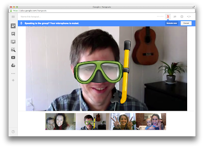 Google+ Hangout Design