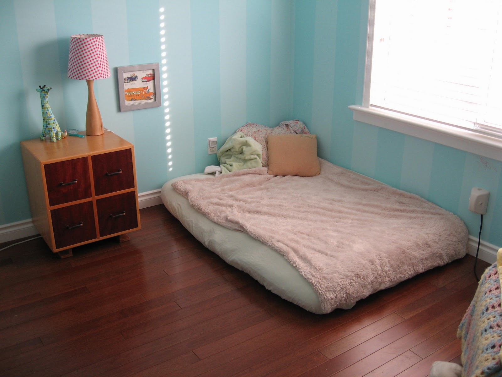The Montessori Child At Home A New House And A New Bedroom For S