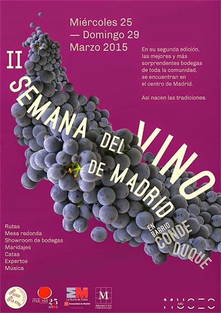 II Semana de los Vinos de Madrid, en el barrio de Conde Duque