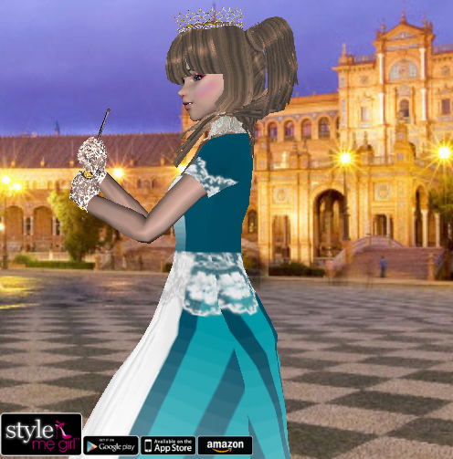 Style Me Girl Level 16 - Alexis - Princess - Fuller view