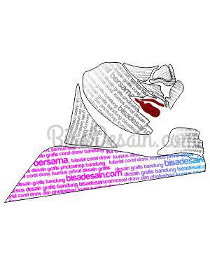 12. Membuat Tipografi Wajah dengan Corel Draw