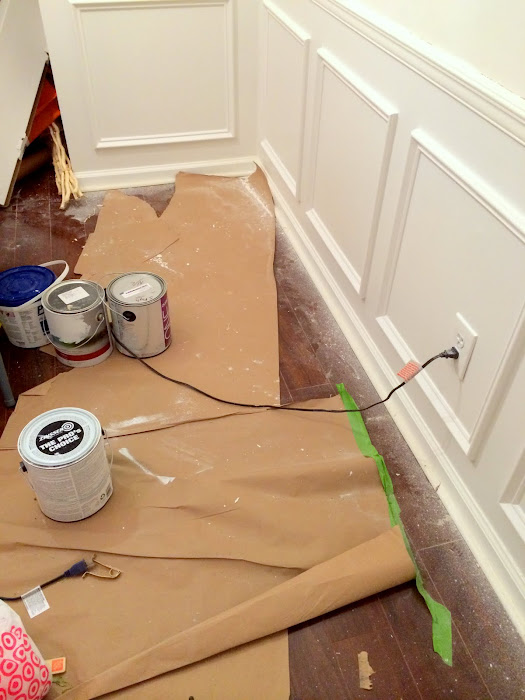 dining room picture frame molding