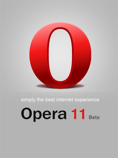 Opera download logo psd