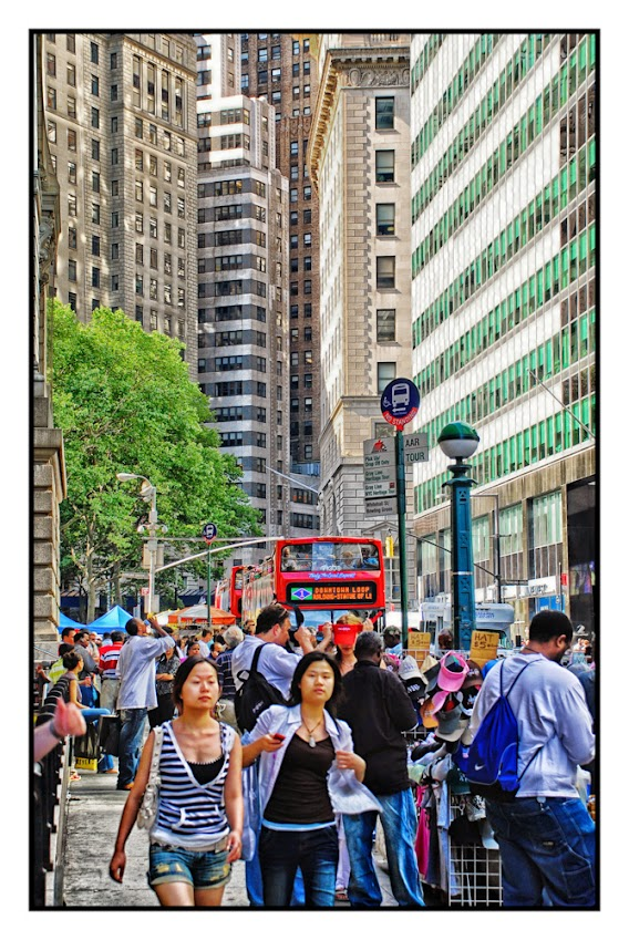 Busy Streets of New York City, street photography, places to visit, tourists and tourism