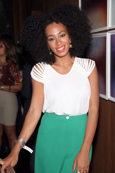 Natural Hair Crush Of The Week: Solange Knowles