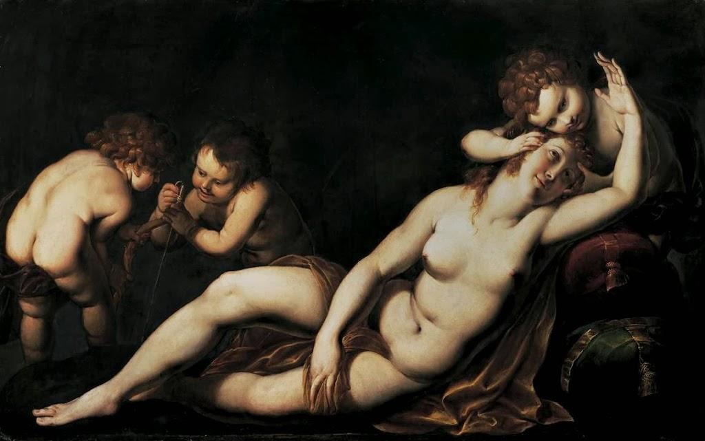 Giulio Cesare Procaccini - Venus and Cupids