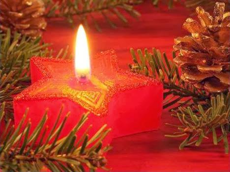 Sfondi di Natale candela