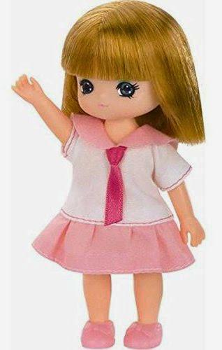 Búp bê Miki mẫu giáo nhỏ nhắn là em gái của Licca