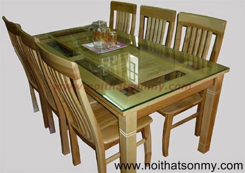 Bộ bàn ghế phòng ăn 02