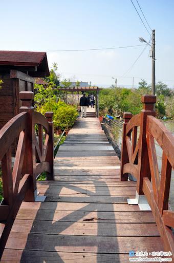 芬園花卉生產休憩園區 - 一座木棧橋