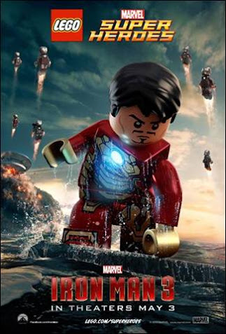 Upcoming Movies: Marvel's Iron Man 3 Lego-Inspired Poster