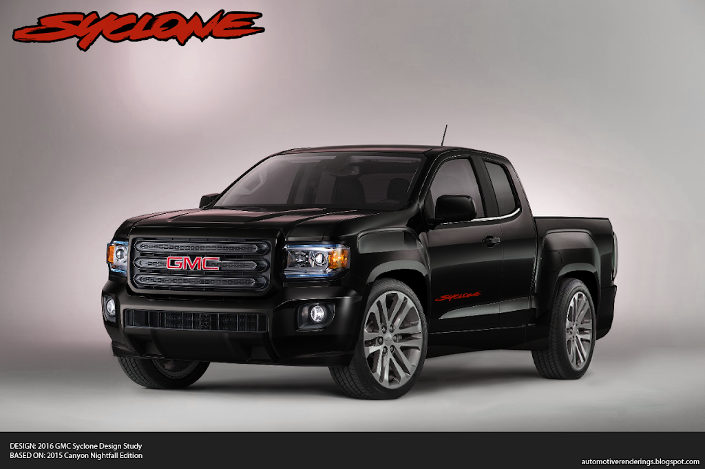 GMC Introduces 2015 Canyon Nightfall Edition - Page 3