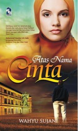 novel atas nama cinta wahyu Sujani