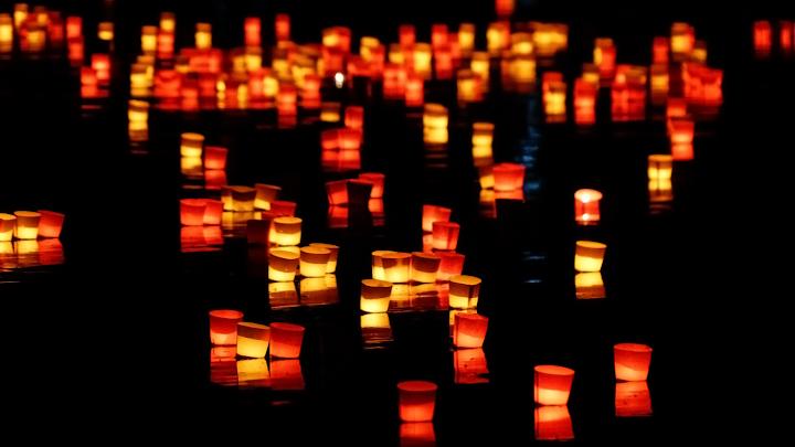candlelight serenade wallpaper