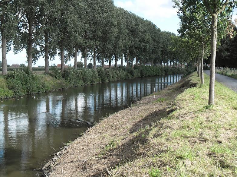 Schipdonkkanaal Deinze - Eeklo (Fietssnelweg F422) - Knokke (of Afleidingskanaal van de Leie) Oeverwerken%2B005