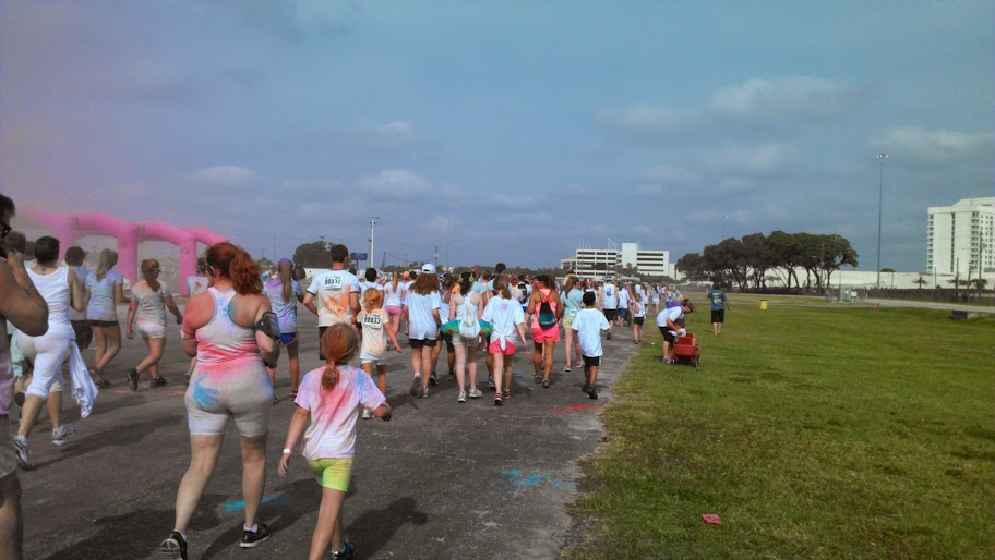 IMAG1400 Another Colorful Time! My Color Me Rad Recap