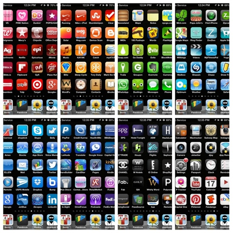 Color Coordinated Apps 28 Images Apps Arranged By