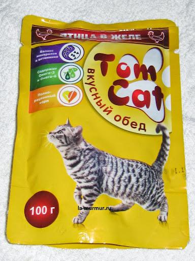 корм для кошек Tom Cat