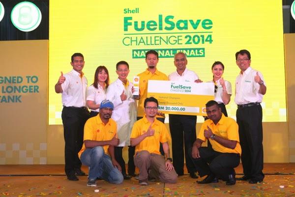 peserta cabaran shell fuelsave