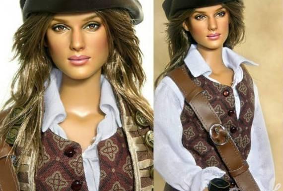 пираты карибского моря – кукла элизабет суонн (кира найтли) – ноэль круз