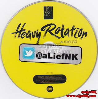 JKT48 Heavy Rotation Type-A | Audio CD [image by @aLiefNK]