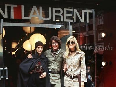 little augury: Saint Laurent rive gauche interiorworthy
