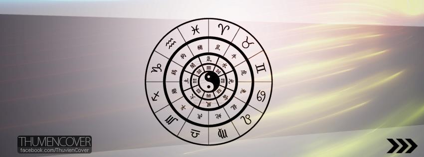 Ảnh bìa facebook: Biểu tượng 12 cung hoàng đạo đẹp