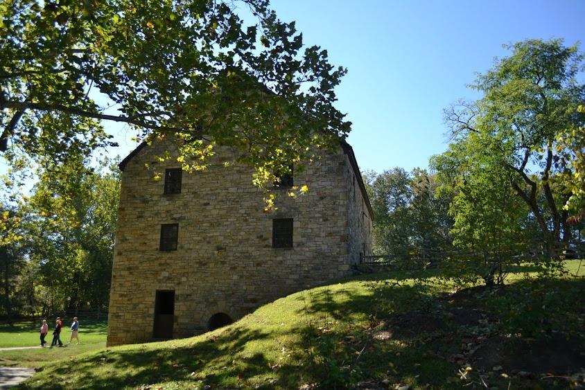 Мельница в поместье Джорджа Вашингтона, Вирджиния (Mount Vernon Gristmill, VA)