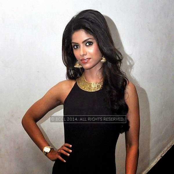 Sayantani Ghosh during the premiere and after party of the film Maya, in Kolkata.