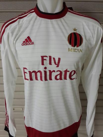 Jual Jersey AC Milan Away Lengan Panjang 2014-2015 Official