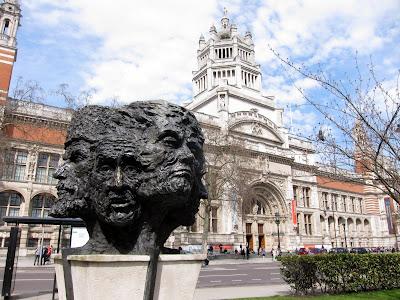 在伦敦维多利亚和阿尔伯特博物馆