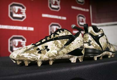 Under Armour Camouflage Cleats