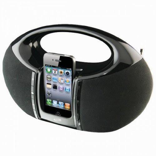 ILIVE iBP182B iPhone(R)/iPod(R) Boom Box