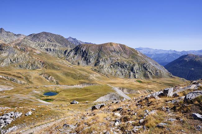 Traversée des Alpes, du lac Léman à la Méditerranée Gr5-briancon-mediterranee-pas-cavale-lac-agnel