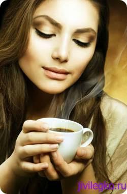 Напиток черный кофе
