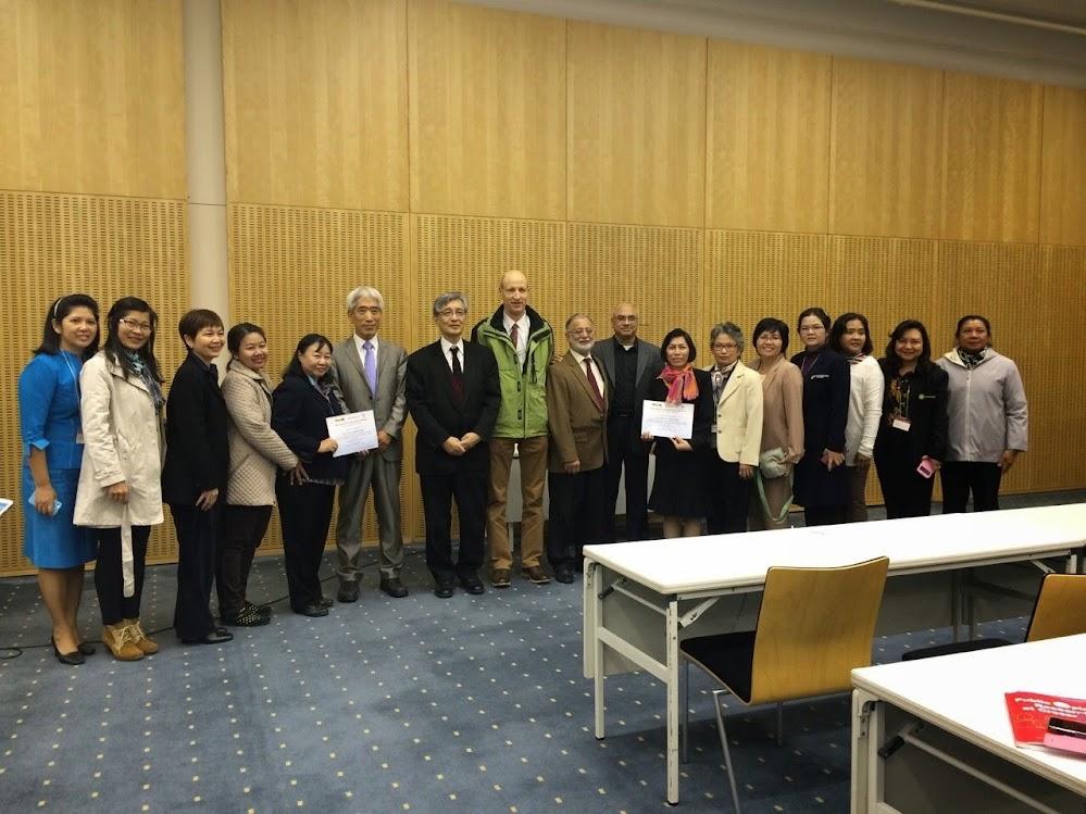 วพบ.นครราชสีมา ได้รับรางวัลการนำเสนอผลงานวิจัยที่ญี่ปุ่น