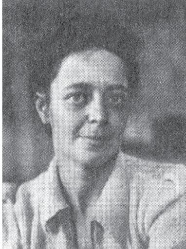 Ариаднa Эфрон. Лагерная фотография, 1946-47