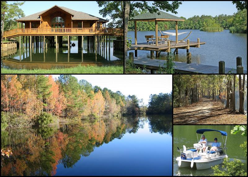 Lakefront lots and homes at Artesian Lakes