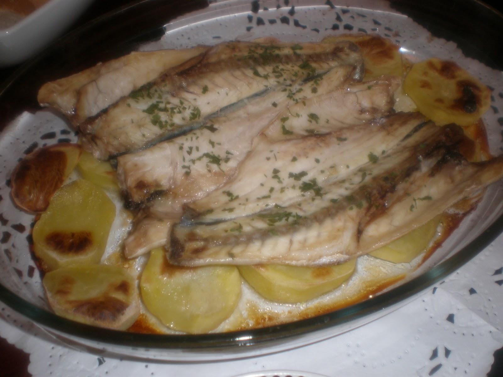 La cocina seg n ereaga lubina al horno - Cocina al horno ...