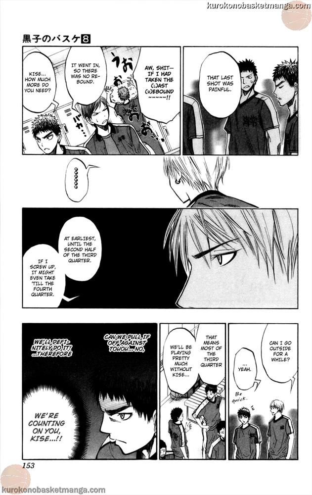 Kuroko no Basket Manga Chapter 68 - Image 7
