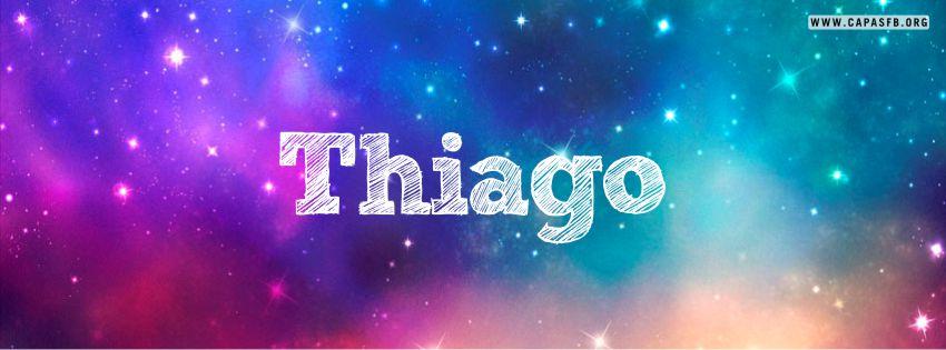 Capas para Facebook Thiago