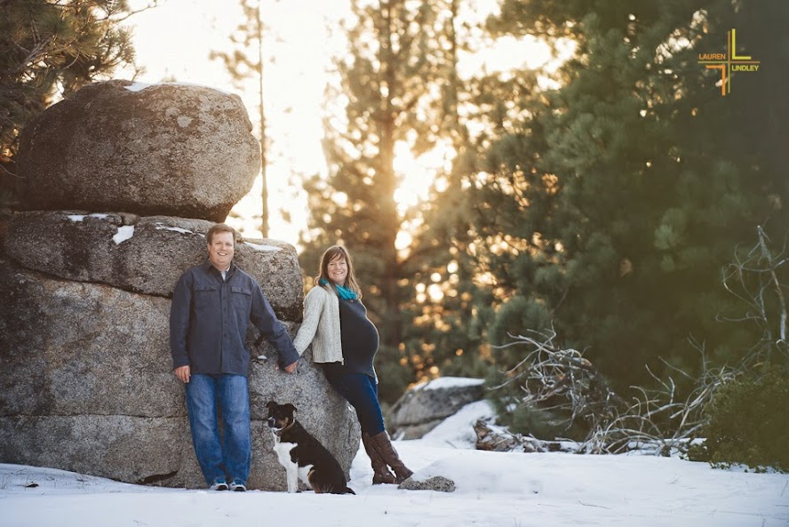 Tahoe Maternity Photos