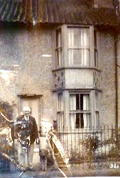 Alfred Rayner and grandaughter Blanche potter outside Rosemary, High Street Little Shelford 1932. Do you have any information on the Cracknell family who lived in Garden Fields in 1930s. I am trying to discover why we moved from london to shelford in 1930s. Blanche Downing (nee Potter) Cambridge 303406.