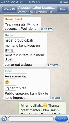 Congrats Awesomazing Team by Hanis