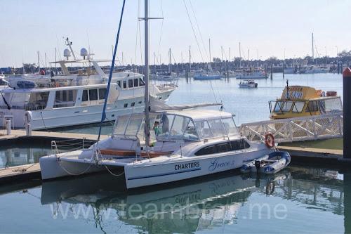 Our ride for tomorrow Sail Capricornia