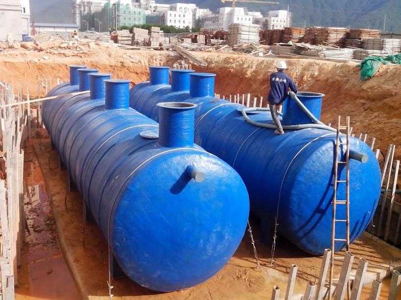 Lắp đặt hệ thống xử lý nước thải sinh hoạt
