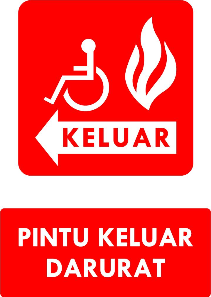 Rambu K3 : Kumpulan Rambu Sarana Evakuasi Darurat ...