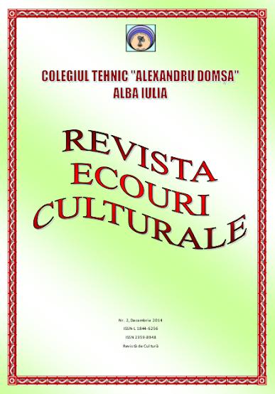 ed5 (ELECTRONIC - revistă scolara) ecouri culturale_Colegiul Tehnic_Alexandru Domșa_Alba Iulia _ALBA