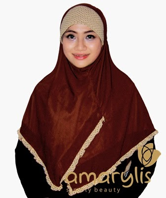 Jilbab Instan Classic Frill Amarylis Collection