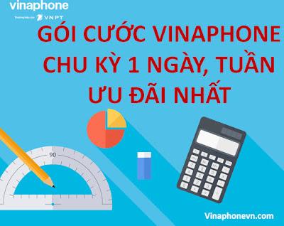 Danh sách Gói cước 4G Vinaphone 1 ngày, 1 tuần rẻ nhất hiện nay